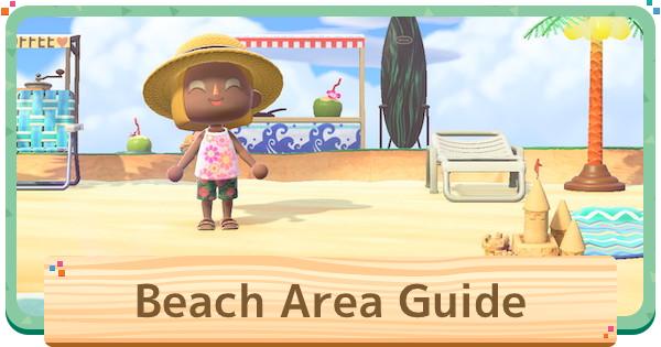 ACNH | Beach Ideas - How to Make A Beach Resort | Animal Crossing - GameWith