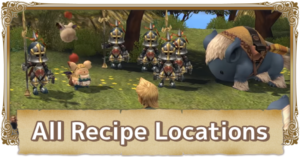 All Scrolls / Recipes Location - How To Get