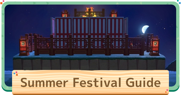 Summer Festival Idea: How To Make Festival Layout