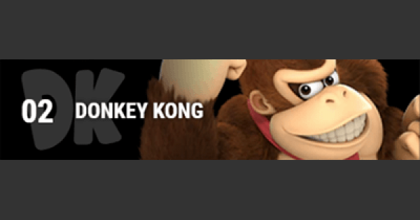 Super Smash Bros Ultimate | DONKEY KONG: Gameplay Tip, Moveset, Final Smash, Unlock | SSBU