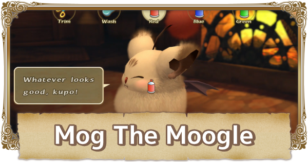 Mog (Moogle) Guide - Fur Color & Fur Length Effects | FFCC (Final Fantasy Crystal Chronicles Remastered) - GameWith