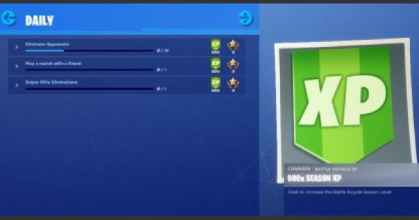 Fortnite | Daily Challenge List & Reset Timing