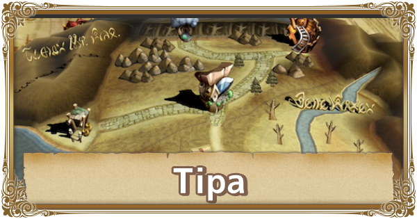 Tipa - Map Location & Items | FFCC (Final Fantasy Crystal Chronicles Remastered) - GameWith