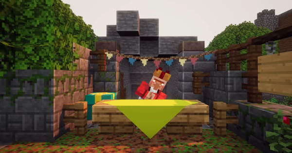Minecraft Dungeons | Gift Wrapper - New Vendor & Uses | Creeping Winter - GameWith