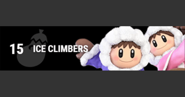 Super Smash Bros Ultimate | ICE CLIMBERS: Gameplay Tip, Moveset, Final Smash, Unlock | SSBU