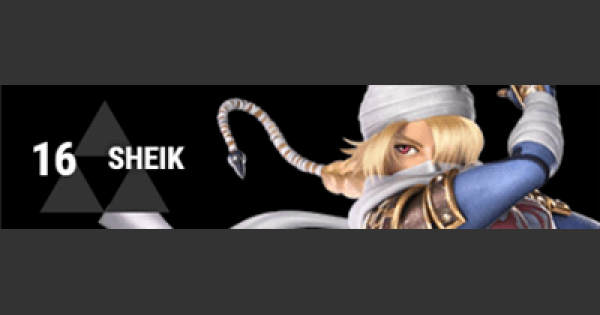 Super Smash Bros Ultimate | SHEIK: Gameplay Tip, Moveset, Final Smash, Unlock | SSBU