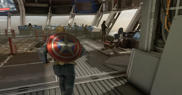 Marvel's Avengers   Final Preparations - Where Is Natasha In The Technology Lab? - GameWith