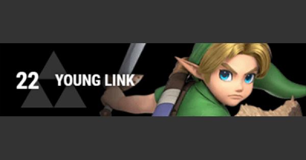 Super Smash Bros Ultimate | YOUNG LINK: Gameplay Tip, Moveset, Final Smash, Unlock | SSBU
