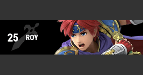 Super Smash Bros Ultimate | ROY: Gameplay Tip, Moveset, Final Smash, Unlock | SSBU
