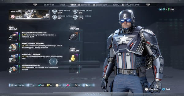 Marvel's Avengers | Best Captain America Build - Perks, Attributes & Skills	 - GameWith