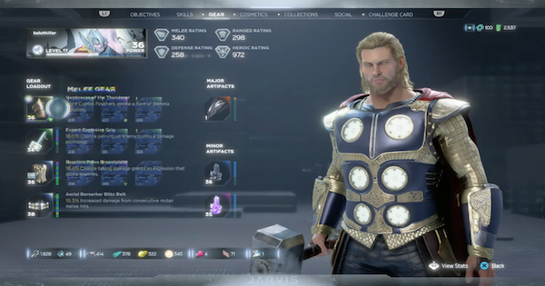 Marvel's Avengers | Thor's Best Build - Perks, Attributes & Skills - GameWith