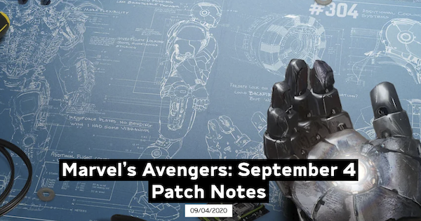 Marvel's Avengers | Update 1.05 Patch Note - GameWith
