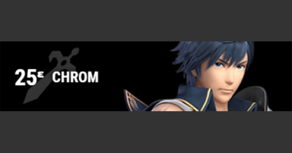 Super Smash Bros Ultimate | CHROM: Gameplay Tip, Moveset, Final Smash, Unlock | SSBU