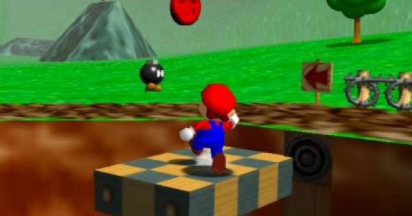 Find the 8 Red Coins Walkthrough Guide | Super Mario 64 Switch - GameWith