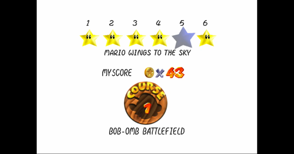 Mario Wings To The Sky Walkthrough Guide | Super Mario 64 Switch - GameWith