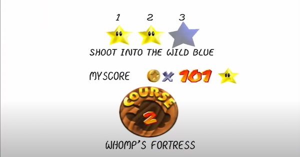 Shoot Into The Wild Blue Walkthrough Guide | Super Mario 64 Switch - GameWith