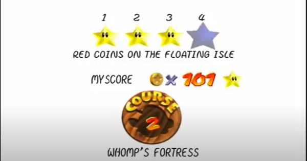 Red Coins On The Floating Isle Walkthrough Guide | Super Mario 64 Switch - GameWith