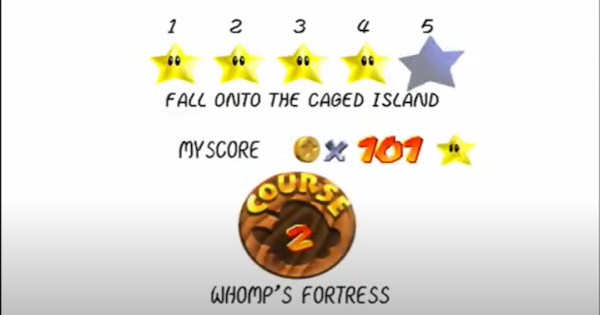 Fall Onto The Caged Island Walkthrough Guide   Super Mario 64 Switch - GameWith