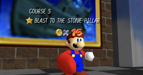 Blast To The Stone Pillar Walkthrough Guide | Super Mario 64 Switch - GameWith