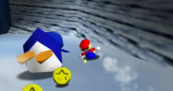 Big Penguin Race Walkthrough Guide   Super Mario 64 Switch - GameWith