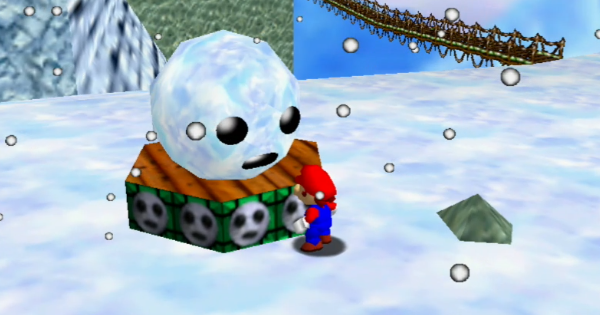 Snowman's Lost His Head Walkthrough Guide | Super Mario 64 Switch - GameWith