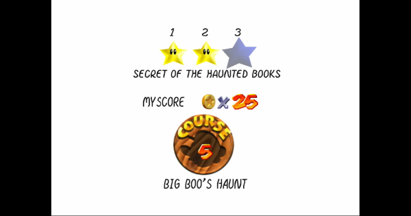 Secret Of The Haunted Books Walkthrough Guide   Super Mario 64 Switch - GameWith
