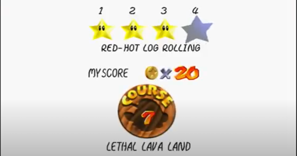 Red-Hot Log Rolling Walkthrough Guide | Super Mario 64 Switch - GameWith