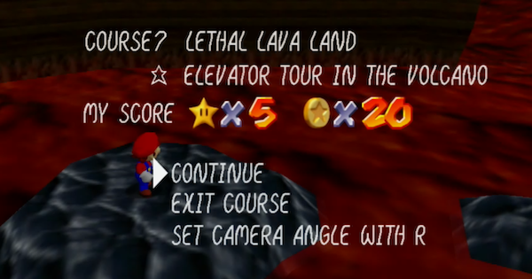 Elevator Tour In The Volcano Walkthrough Guide | Super Mario 64 Switch - GameWith