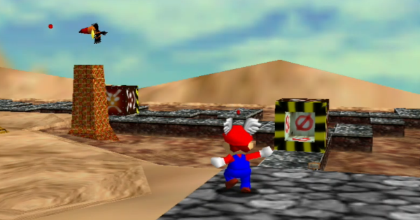 In the Talons Of The Big Bird Walkthrough Guide | Super Mario 64 Switch - GameWith