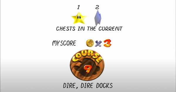 Chests in the Current Walkthrough Guide | Super Mario 64 Switch - GameWith