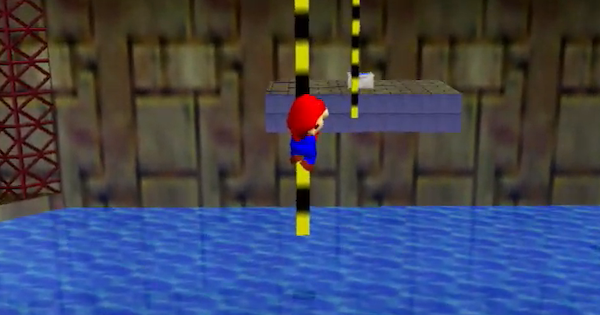 Pole-Jumping for Red Coins Walkthrough Guide | Super Mario 64 Switch - GameWith