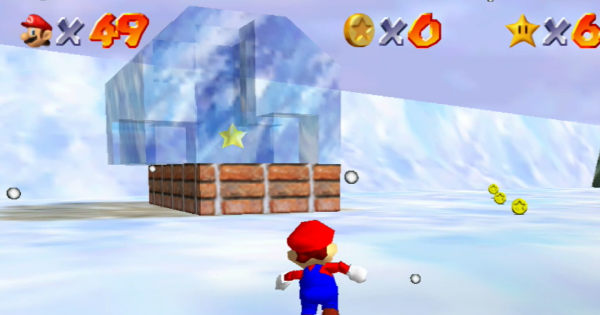 In The Deep Freeze Walkthrough Guide   Super Mario 64 Switch - GameWith