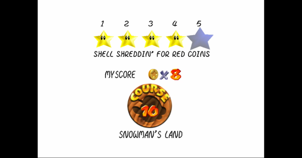 Shell Shreddin' For Red Coins Walkthrough Guide | Super Mario 64 Switch - GameWith