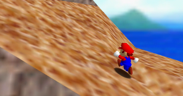 Scale The Mountain Walkthrough Guide   Super Mario 64 Switch - GameWith
