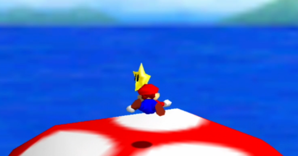 Blast To The Lonely Mushroom Walkthrough Guide | Super Mario 64 Switch - GameWith