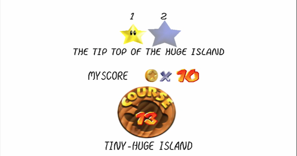 The Tip Top Of The Huge Island Walkthrough Guide | Super Mario 64 Switch - GameWith