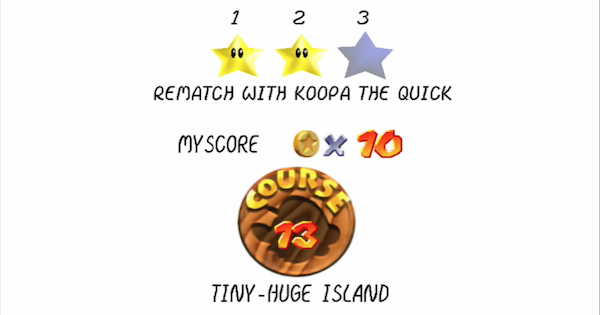 Rematch with Koopa the Quick Walkthrough Guide | Super Mario 64 Switch - GameWith