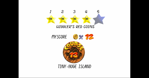 Wiggler's Red Coins Walkthrough Guide | Super Mario 64 Switch - GameWith