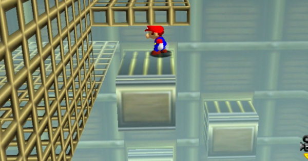 Timed Jumps On Moving Bars Walkthrough Guide   Super Mario 64 Switch - GameWith