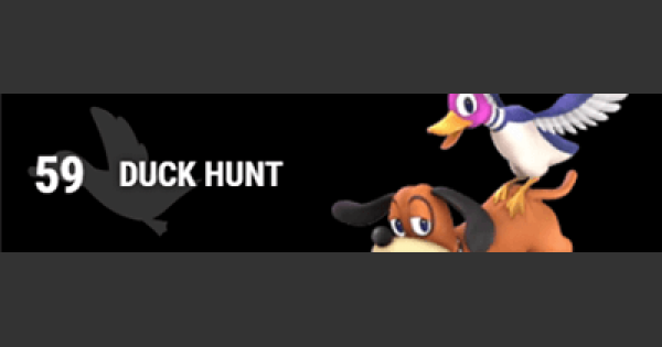 Super Smash Bros Ultimate | DUCK HUNT: Gameplay Tip, Moveset, Final Smash, Unlock - GameWith