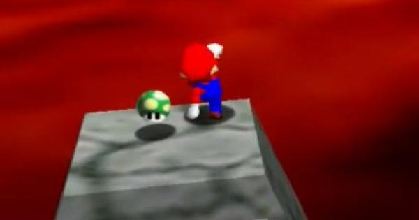 Bowser In The Fire Sea Walkthrough Guide | Super Mario 64 Switch - GameWith