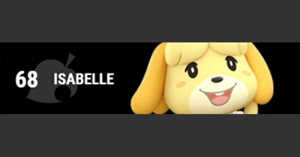 Super Smash Bros Ultimate | ISABELLE: Gameplay Tip, Moveset, Final Smash, Unlock | SSBU