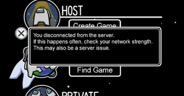 Server Issues - Maintenance & Error Codes | Among Us - GameWith