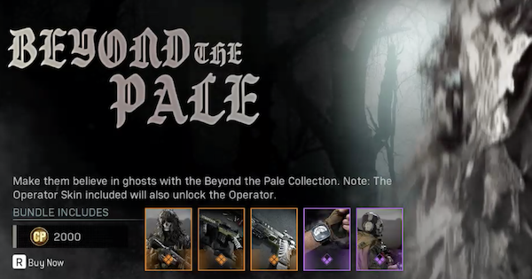 Ghost Beyond The Pale Bundle - Skin, Contents & Details