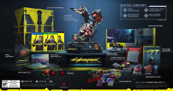 Cyberpunk 2077 | Collector's  Edition & Standard Edition - Differences & Contents - GameWith
