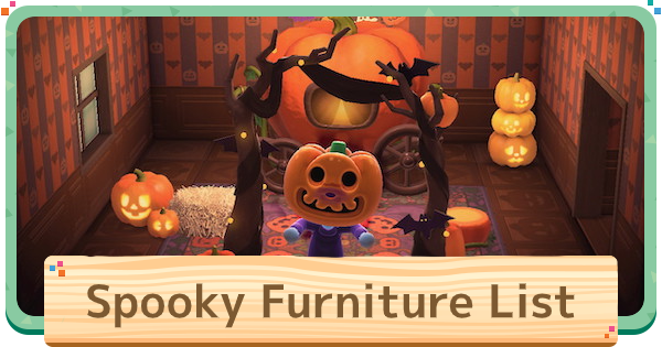 ACNH | Halloween Items & Spooky Furniture List | Animal Crossing - GameWith