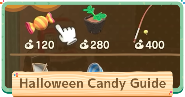 Halloween Candy - How To Get | ACNH | Animal Crossing - GameWith