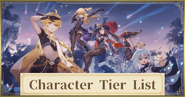 Tier List 1.2 - Best Character Ranking (January 2021)