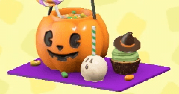 ACNH | Spooky candy set - How To Get DIY Recipe & Required Materials | Animal Crossing - GameWith