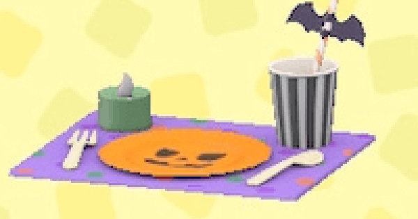 ACNH | Spooky Table Setting - How To Get | Animal Crossing - GameWith